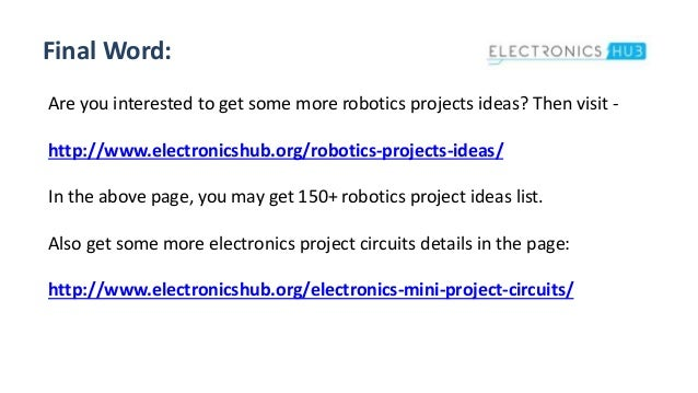Robotics Projects for Engineering Students - ElectronicsHub.org