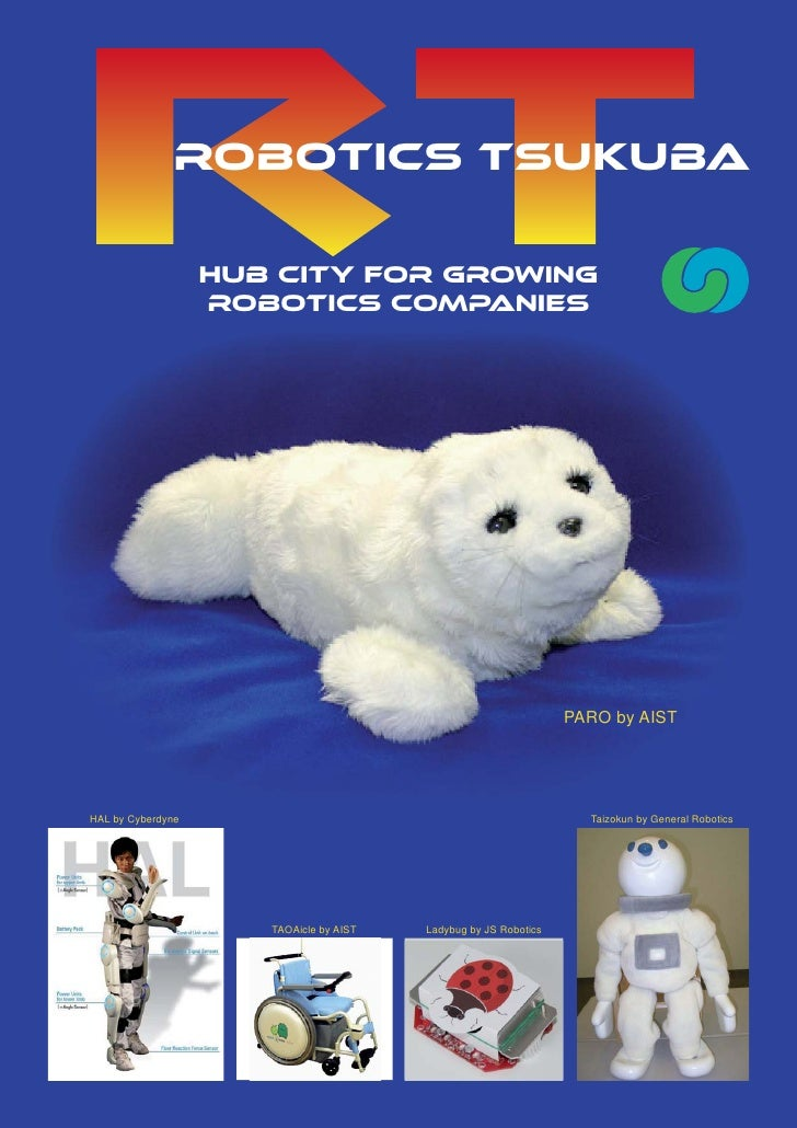 ROBOTICS TSUKUBA                   HUB CITY FOR GROWING                   ROBOTICS COMPANIES                              ...