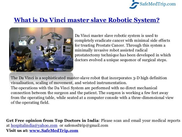 World S Most Advanced Robotic Surgery For Prostate Cancer