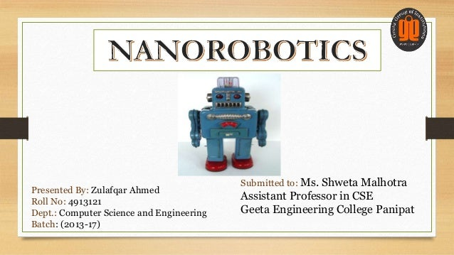 fractal robot ppt Fractal robots seminar report on fractal robots submitted by: documents similar to fractal robots seminar report fractal robot ppt.