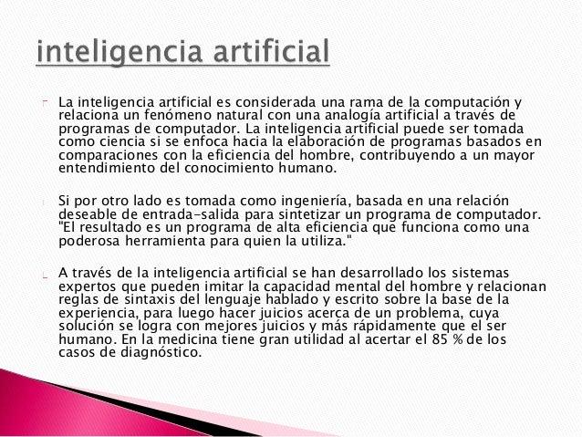 La Inteligencia Artificial se ve aplicada al manejo de diferentes maquinas haciéndolas cada vez mejores al momento de reci...