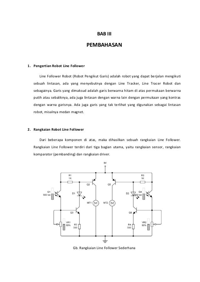Robot line follower sederhana menggunakan transisto dan photo dioda gb baterai 14 bab iii pembahasan 1 pengertian robot line follower ccuart Image collections
