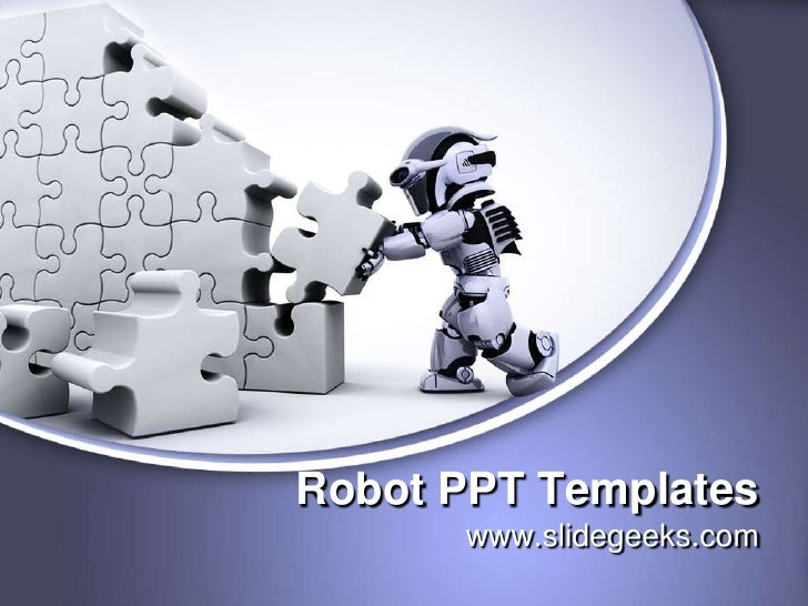 Robot ppt templates