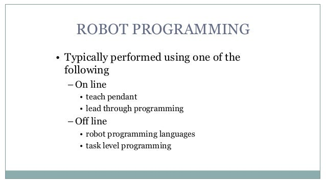 Robot programming subtasks 6 aloadofball Image collections