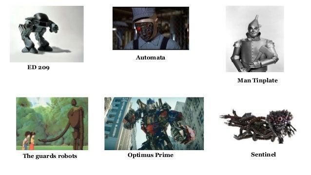 ED 209 Man Tinplate Automata The guards robots SentinelOptimus Prime