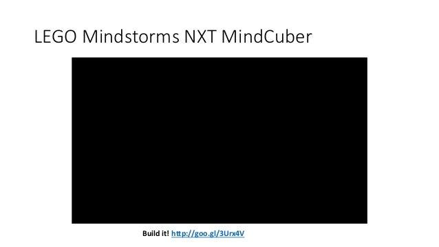 LEGO Mindstorms NXT MindCuber Build it! http://goo.gl/3Urx4V