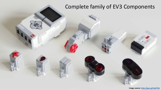 Image source: http://goo.gl/1wD7oS Complete family of EV3 Components