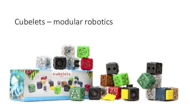 Cubelets – modular robotics