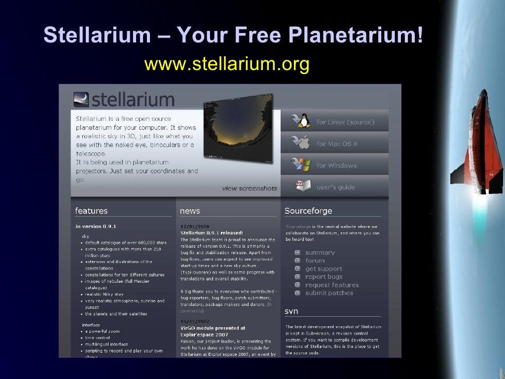 Stellarium – Your Free Planetarium!