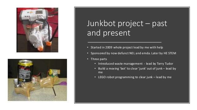 Junkbot – bot building took off - Hayley