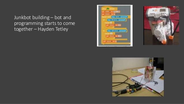Junkbots - now • Scratch • Python