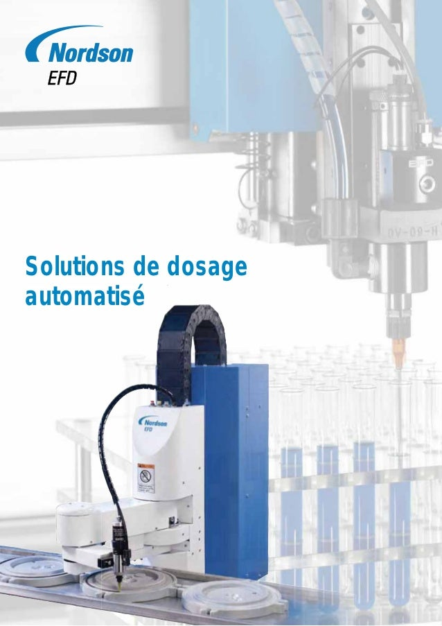 Solutions de dosage automatisé  1 1  1 1