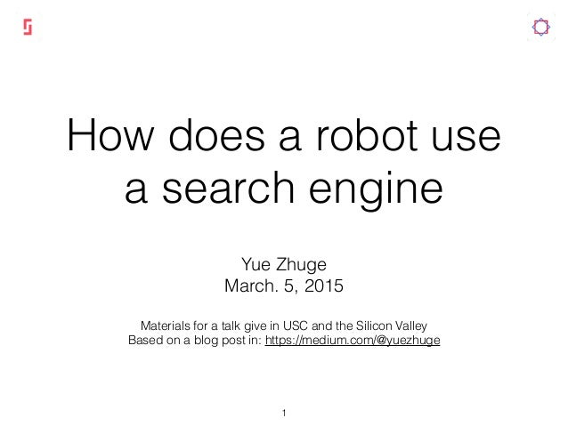Robot Search Engine