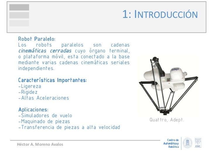 Robots Paralelos, Conceptos y Aplicaciones Slide 3