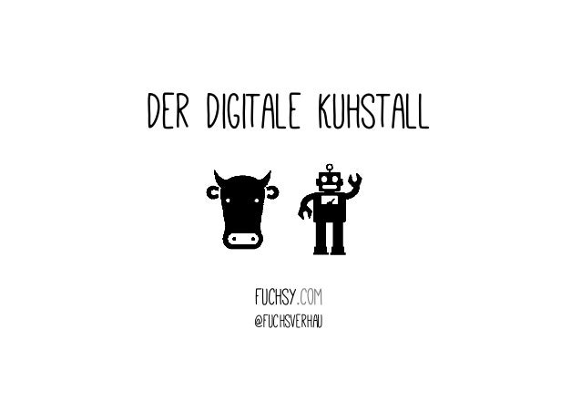 Der Digitale Kuhstall  Fuchsy.com  @fuchsverhau