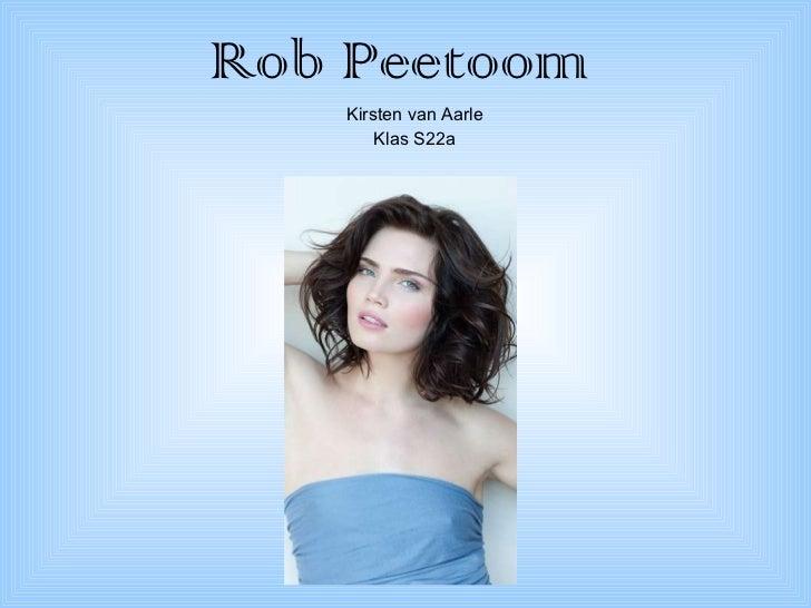 Rob Peetoom Kirsten van Aarle Klas S22a