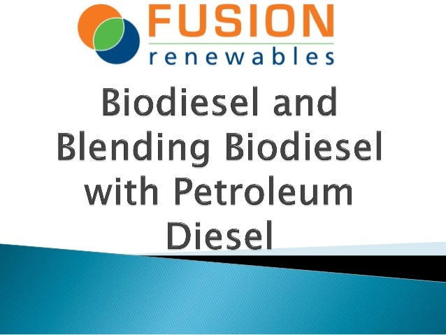    Biodiesel, n - a fuel comprised of mono-alkyl esters of    long chain fatty acids derived from vegetable oils or    an...