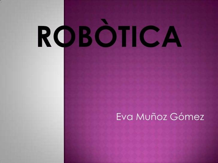 Eva Muñoz Gómez