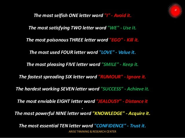 Roby 1-10 letter and words use