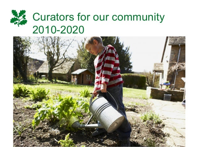 Curators for our community 2010-2020