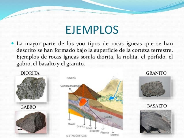 Roca ignea for Formacion de la roca