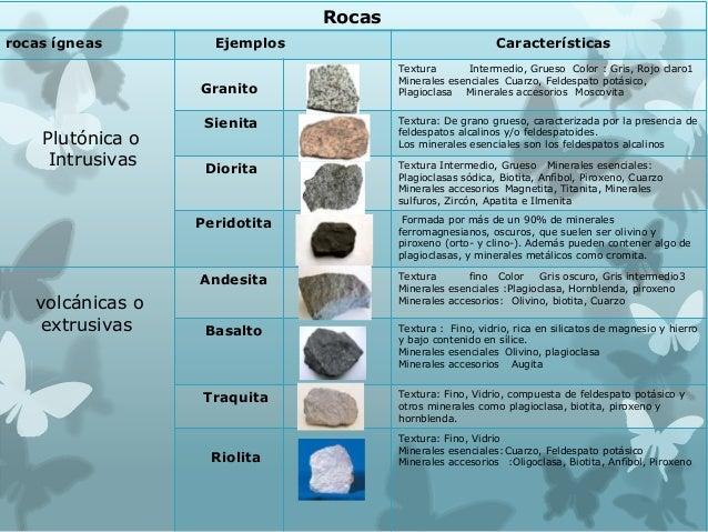 Rocas for Granito caracteristicas
