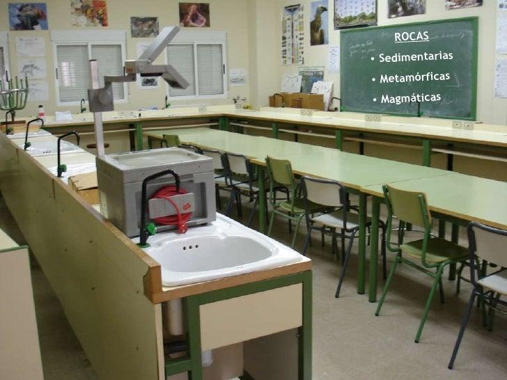 R  O  C  A  S 1ºA Bachillerato IES Eugenio Frutos <ul><li>ROCAS </li></ul><ul><li>Sedimentarias </li></ul><ul><li>Metamórf...