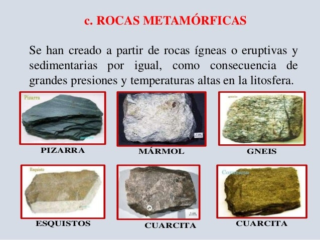 Rocas origen y propiedades unach for Marmol caracteristicas y usos