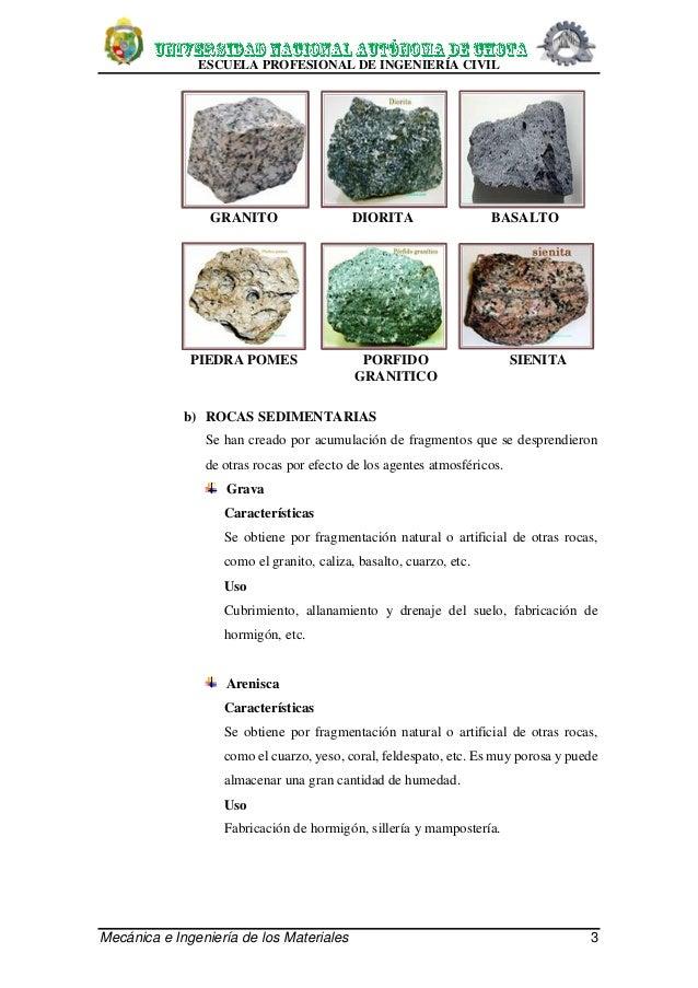 Rocas origen y propiedades for Marmol caracteristicas y usos