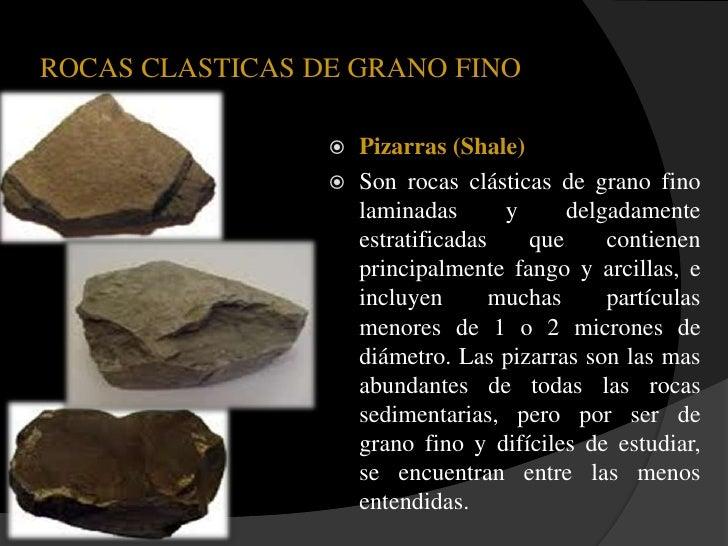 Rocas sedimentarias for Granito caracteristicas