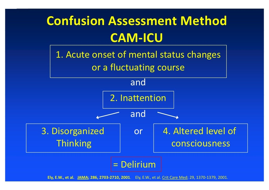 diagnosis and forms of management of delirium nursing essay The complications of icu delirium are shown by a specific case study reported by harwick (2003)  reduction of icu's nursing ratio and change management .