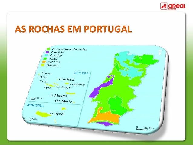 AS ROCHAS EM PORTUGAL