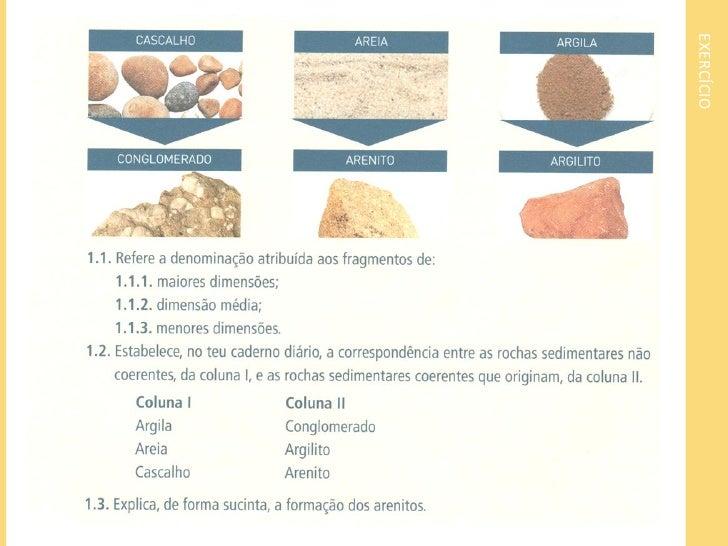 Rochas sedimentares quimiogénicasFormadas a partir de um processo de precipitação desubstâncias químicas dissolvidas numa ...