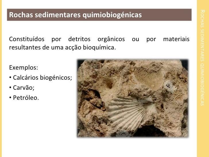 DISTRIBUIÇÃO GEOGRÁFICA DE ROCHAS SEDIMENTARES