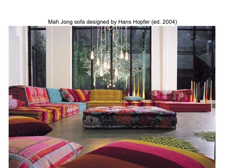 Roche bobois floor cushion seating Mah Jong Roche Bobois Slideshare Roche Bobois Through The Decades
