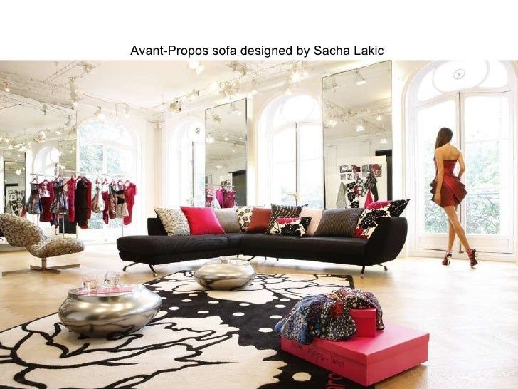 Latest Advertising Campaigns Espace Sofa Designed By Philippe Bouix; 73.