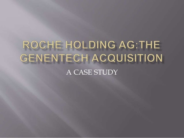 case roche genentech Biotech success story integrated case study: energy efficiency,  francisco- based genentech employs  by the roche group, a swiss-based international.
