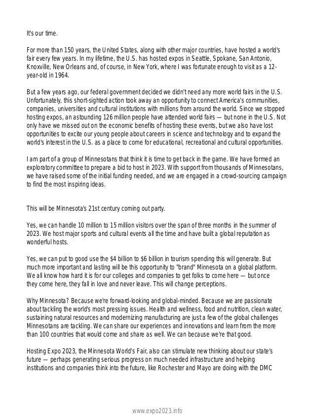 Expo 2023 Press Coverage   Rochester Post Bulletin