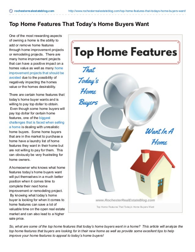 rochesterrealestateblog.com http://www.rochesterrealestateblog.com/top-home-features-that-todays-home-buyers-want/ Top Hom...