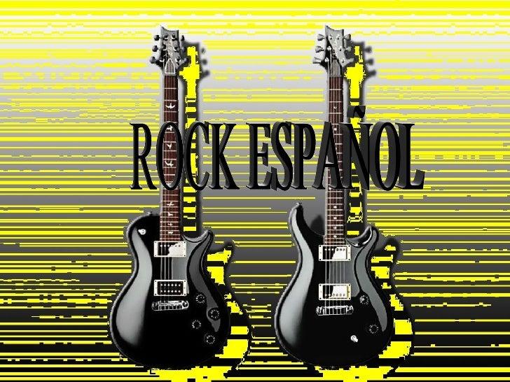 ROCK ESPAÑOL