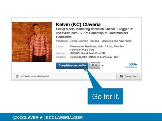 @KCCLAVERIA@KCCLAVERIA | KCCLAVERIA.COM Go for it.