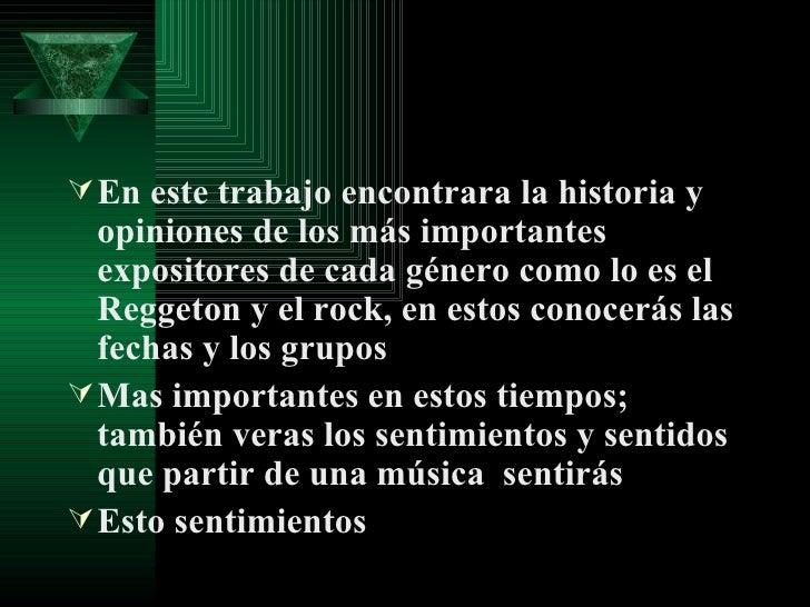 Rock Vs Reggeton Slide 2