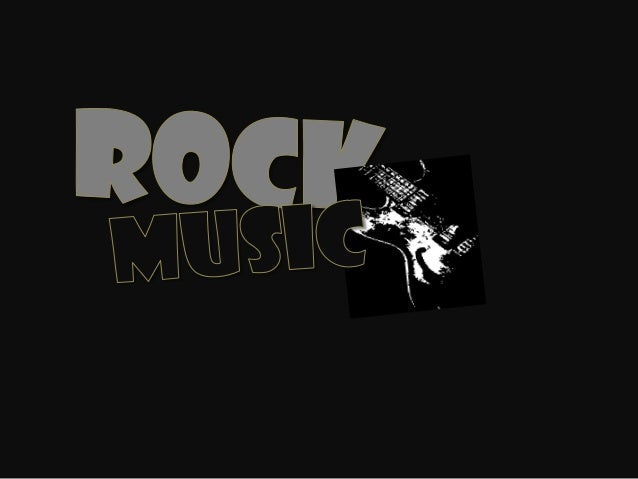Rock started in the 1950's and from there became a very popular musicgenre. It mainly came from the USA and the UK. A guy ...