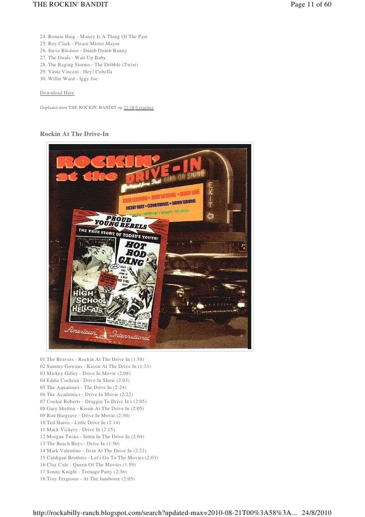Rockabilly boogie 01