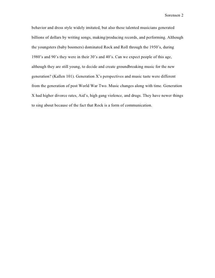 Rock N Roll History Essay - image 10