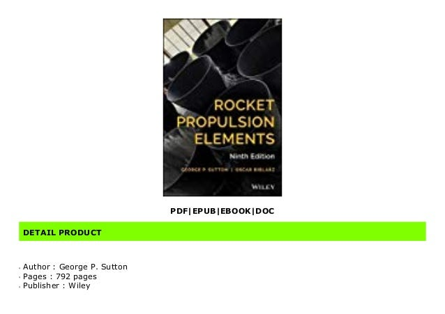 Audiobook Rocket Propulsion Elements By George P Sutton