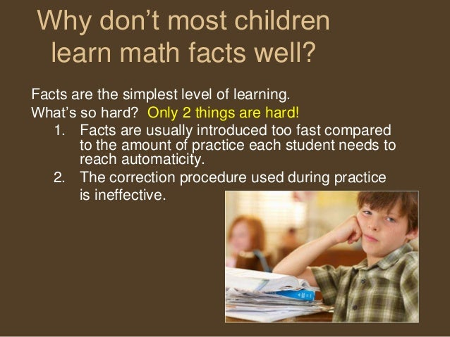 Difficulty With Math? Perhaps You Have Discalculia