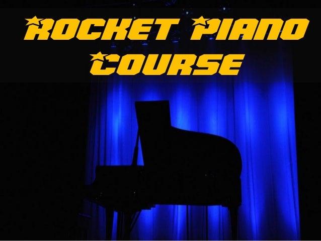 Rocket Piano Course