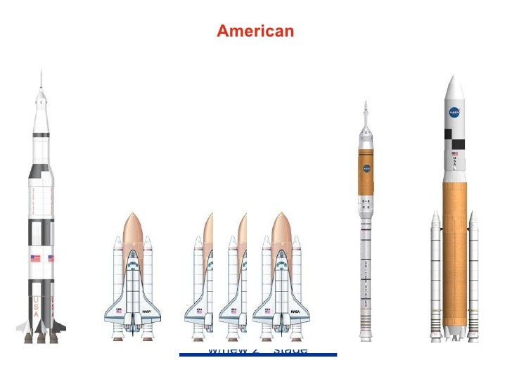 American      Rockets          Aries   Part of Constellation        Program         Ares I 1st stage based on 5.5      seg...