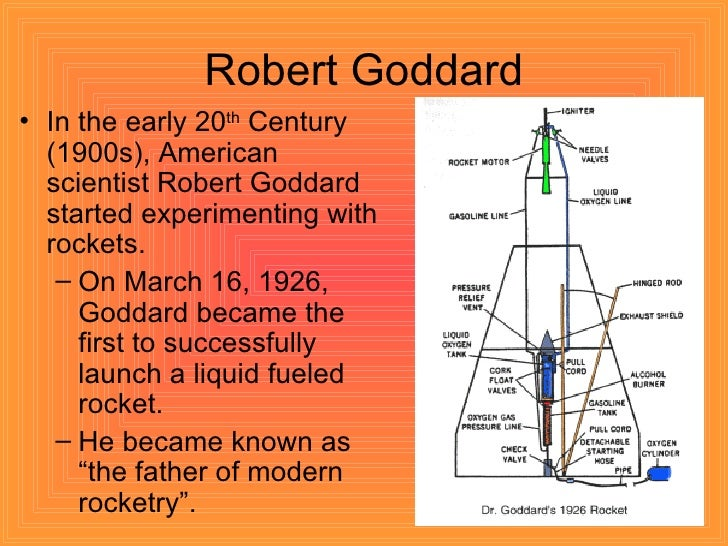 rockets a brief history timeline